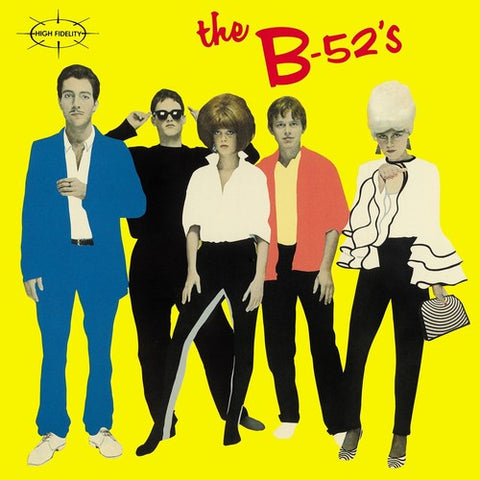 B-52's (street date 3/26) The B-52's [2021] Black vinyl reisue NEW