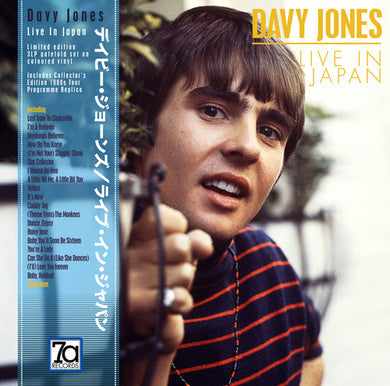 JONES, DAVY Live In Japan [2019] 3LPs (red, white, blue) Import -Ltd Ed SEALED, NEW