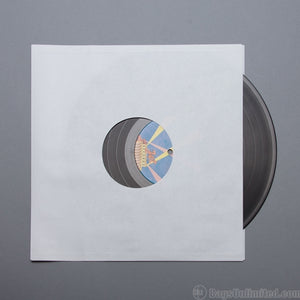 "Accessories: Ten 12"" X 12"" White Paper Inner Sleeves"