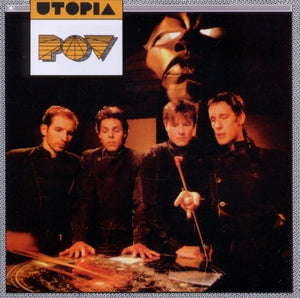 UTOPIA POV [1985] Todd Rundgren Near Mint- USED