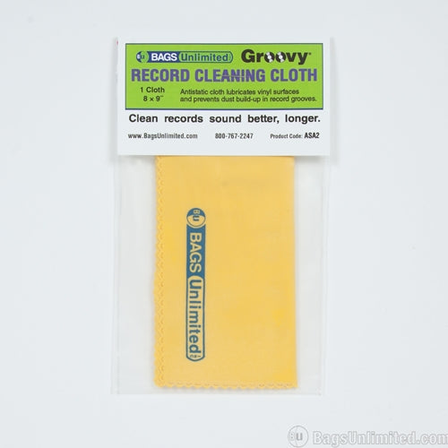 Accessories: Vinyl Record Cleaning Cloth (Bags Unlimited)