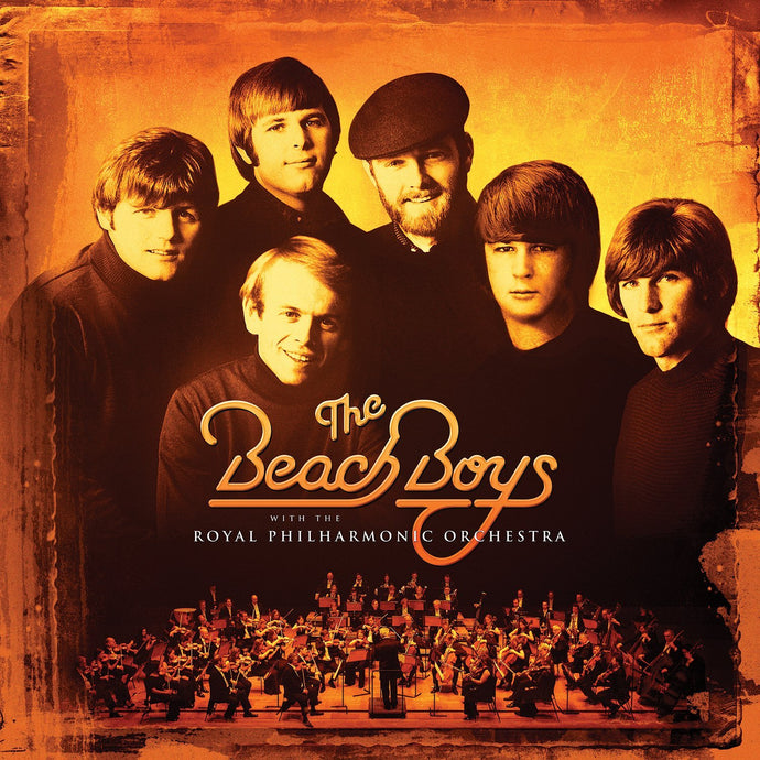 BEACH BOYS with the Royal Philharmonic Orchestra (2018) 2LP SEALED, NEW