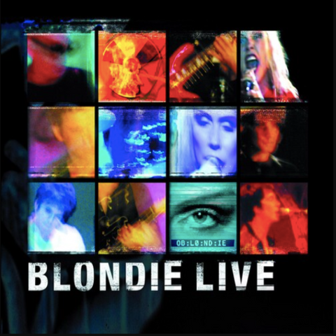 BLONDIE Live [2020] 1st time on vinyl 2LP NEW
