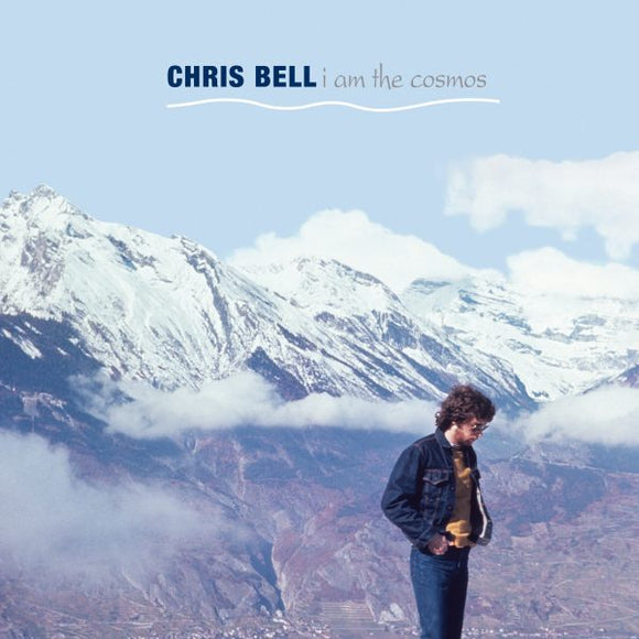 BELL, CHRIS (1/10) I Am the Cosmos [2020] translucent BLUE vinyl SEALED, NEW