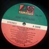 "HOWARD, MIKI ""Ain't Nuthin' In the World"" 1989 promo vinyl 12"" single NM USED"