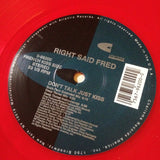 "RIGHT SAID FRED ""Don't Talk Just Kiss"" [1991] RED VINYL VG+ USED"