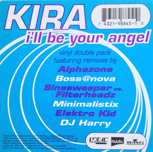 "KIRA - ""I'll Be Your Angel"" [2003] 2x12"" single NM- USED"