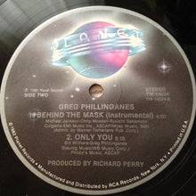 "GREG PHILLINGANES ""Behind The Mask"" [1985] 12"" Single Michael Jackson USED"