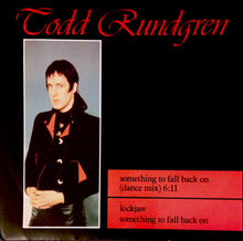 "TODD RUNDGREN ""Something To Fall Back On"" (Dance Mix) [1985] UK 12"" single NM USED"
