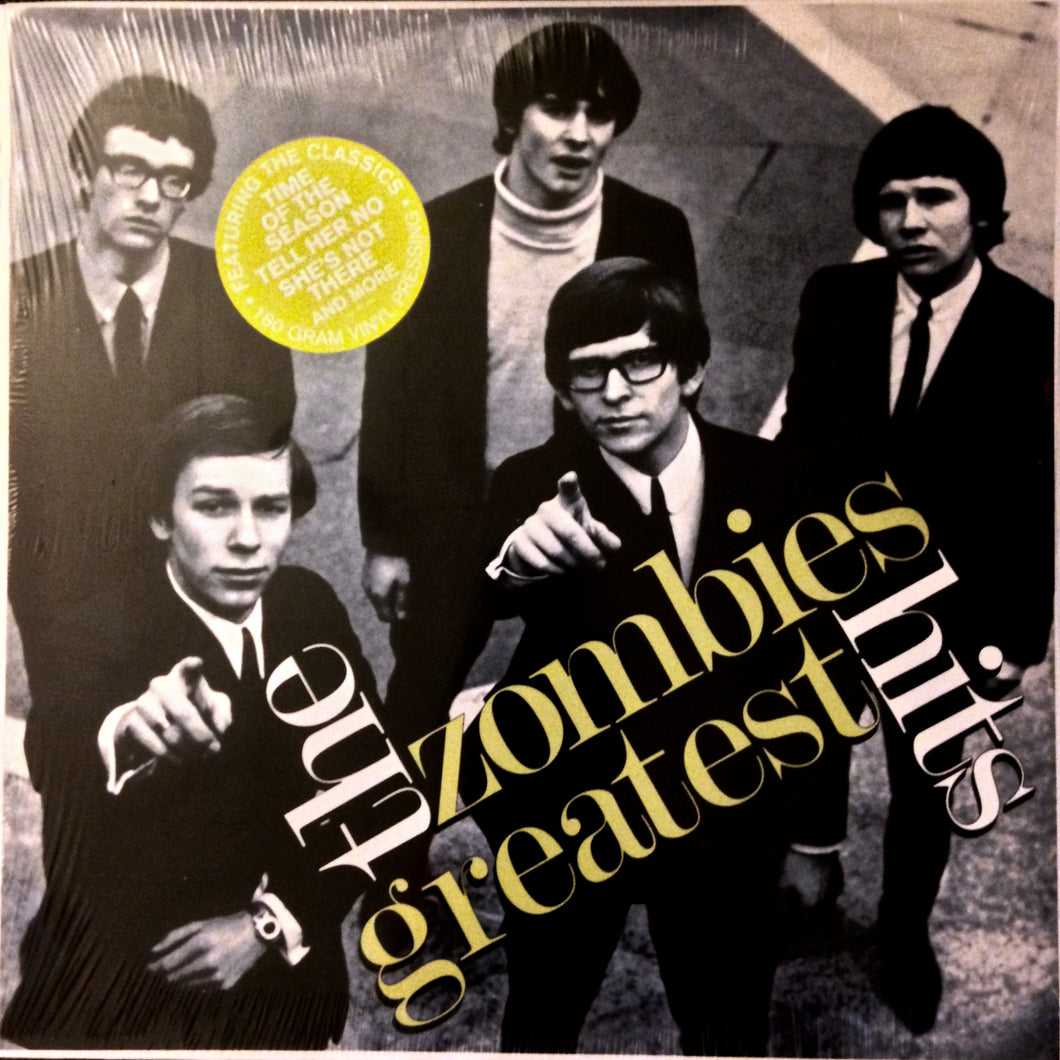 ZOMBIES Greatest Hits [2017] Ltd Ed vinyl SEALED NEW