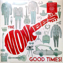 MONKEES Good Times! [2016] 180g Top 20 LP w stickers SEALED NEW