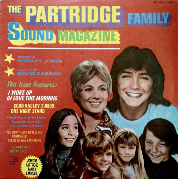 PARTRIDGE FAMILY Sound Magazine [1971] USED