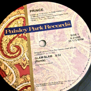 "PRINCE ""Glam Slam""/""Escape"" [1988] US 12"" single USED"