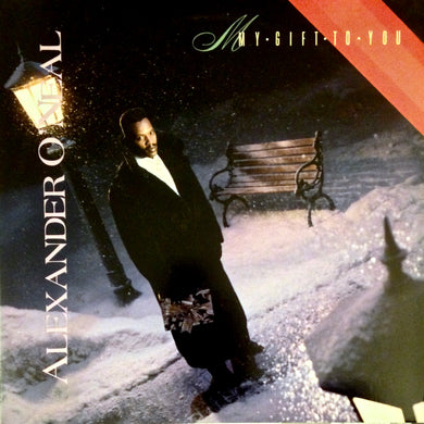 ALEXANDER O'NEAL My Gift To You [1988] Jimmy Jam Terry Lewis M- USED