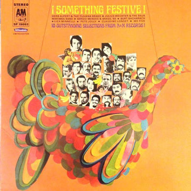 CHRISTMAS: VARIOUS ¡Something Festive! [1968] USED