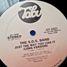 "S.O.S. Band ""Just The Way You Like It"" [1984] 12' Single Jimmy Jam, Terry Lewis USED"