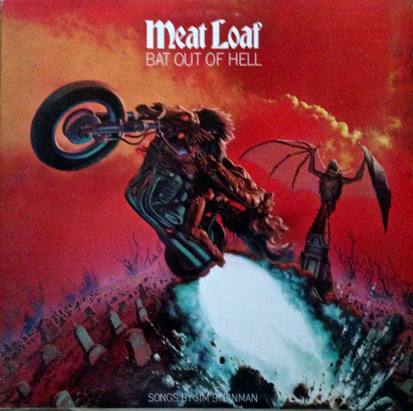 MEAT LOAF Bat Out of Hell [1977] 1985 reissue VG+ (Prod by T. Rundgren) USED