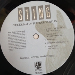 STING The Dream of the Blue Turtles [1985] Beautiful copy, insert (USED)