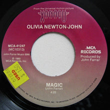 "NEWTON-JOHN, OLIVIA ""Magic""/""Fool Country"" [1980] 7"" single USED"
