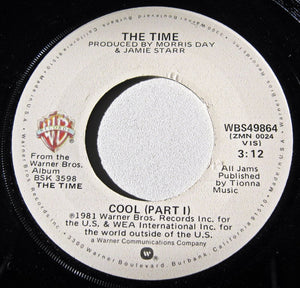 "TIME, THE ""Cool (pts I & II)"" [1981] 7""single USED"