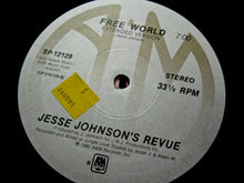 "JOHNSON, JESSE ""Can You Help Me""/""Free World"" (non-LP) [1985] 12"" single USED"