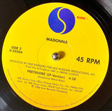 "MADONNA ""Material Girl (extended dance mix)"" / ""Pretender"" [1984] 12"" Maxi-Single, ARC Pressing USED"