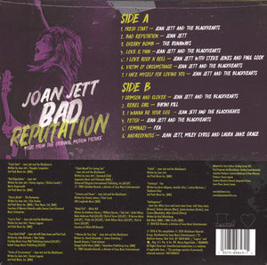 JETT, JOAN Bad Reputation: Music From The Original Motion Picture [2019] SEALED, NEW