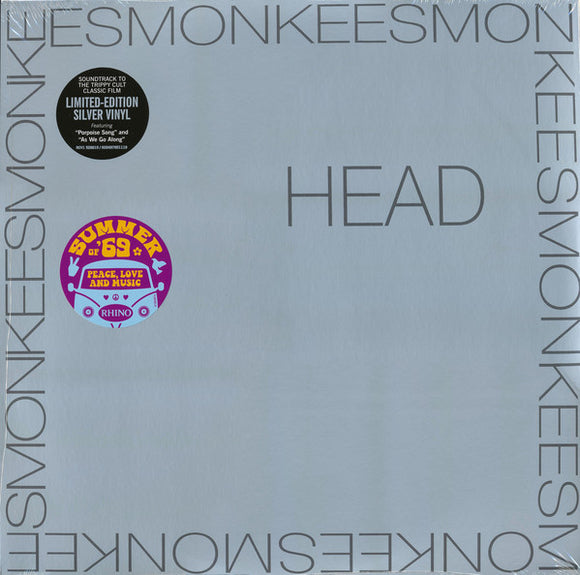 MONKEES Head [2019] *Indie Exclusive* Ltd Ed SILVER vinyl press SEALED, NEW