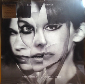 "SLEATER-KINNEY The Center Won't Hold [2019] Deluxe Ed. w 7"" single + sticker sheet SEALED, NEW"