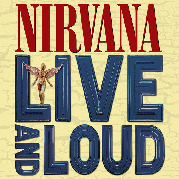 NIRVANA Live and Loud [2019] 180g 2LP w extras SEALED, NEW