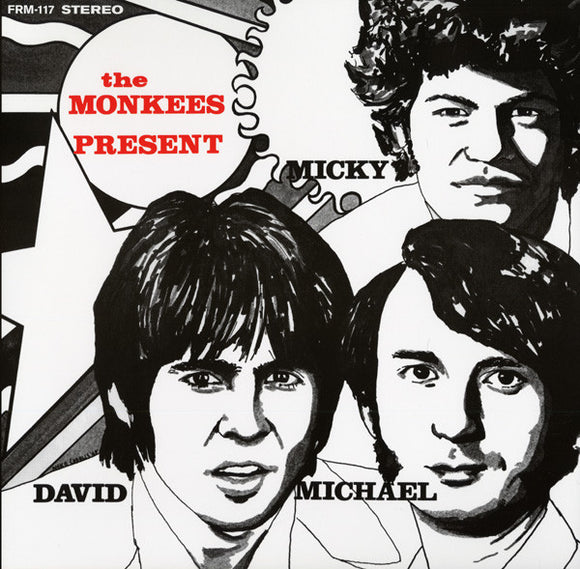 MONKEES Present [2012] 180g YELLOW vinyl pressing, gatefold NEW