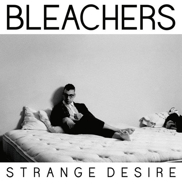BLEACHERS Strange Desire [2014] Clear Vinyl, gatefold sleeve SEALED, NEW