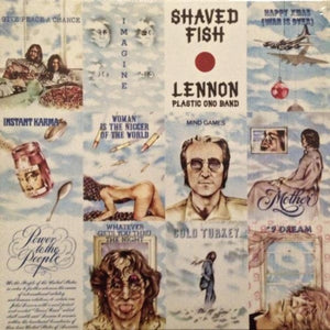LENNON, JOHN PLASTIC ONO BAND Shaved Fish [2014] 180g reissue Apple SEALED NEW