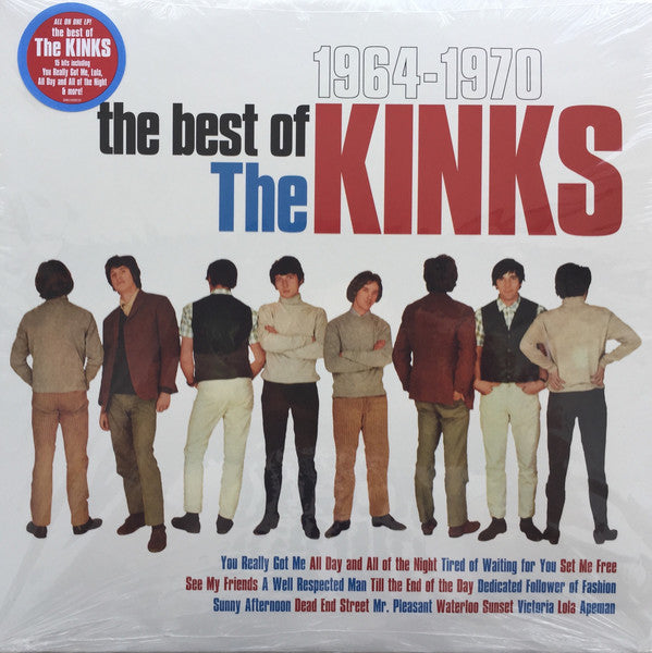 KINKS Best Of The Kinks 1964-1970 [2016] Vinyl-only release SEALED NEW