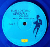 COSTELLO, ELVIS My Flame Burns Blue (Live With The Metropole Orkest) [2016] 180g 2LP BLUE vinyl SEALED, NEW