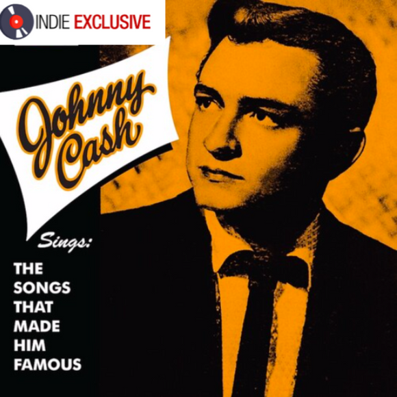 CASH, JOHNNY (3/27) Sings The Songs That Made Him Famous [2020] *Indie Exclusive* Ltd 300 copies YELLOW vinyl SEALED, NEW