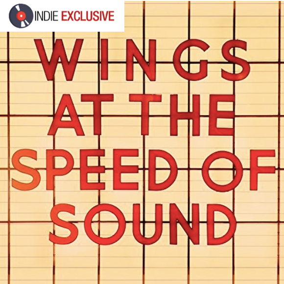 McCARTNEY, PAUL WINGS At the Speed of Sound [2017] *indie exclusive* ORANGE vinyl SEALED NEW