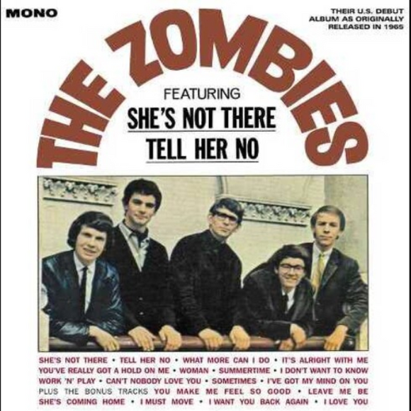 ZOMBIES (7/31)The Zombies [2020] Mono reissue of debut US LP SEALED, NEW