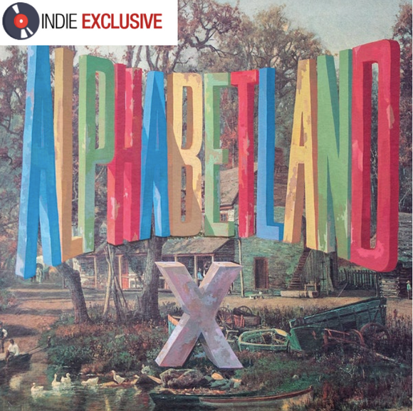 X Alphabetland [2020] *indie exclusive* Ltd ed blue vinyl w poster. SEALED, NEW