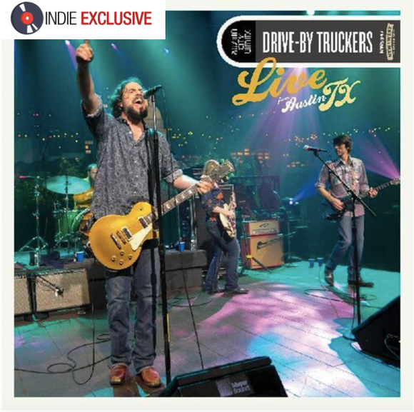 DRIVE-BY TRUCKERS Live From Austin TX [2020] *indie exclusive* 2LP ltd ed Blue vinyl SEALED, NEW