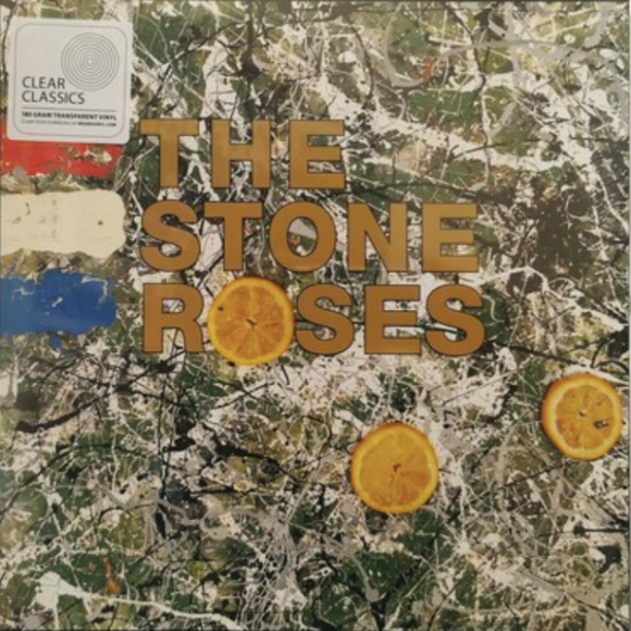 STONE ROSES Stone Roses [2020] (import) Limited Edition CLEAR vinyl press SEALED, NEW