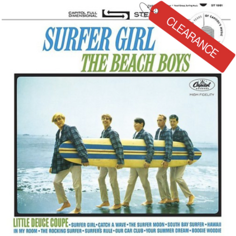 BEACH BOYS Surfer Girl [2016] NEW