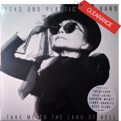 ONO, YOKO PLASTIC ONO BAND Take Me To The Land of Hell [2013] NEW SEALED