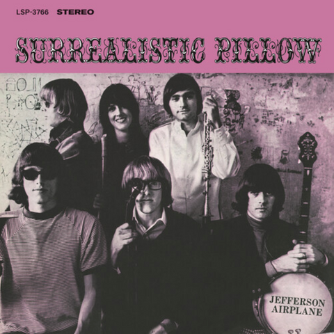 JEFFERSON AIRPLANE (2/26) Surrealistic Pillow [2021] 180g remastered NEW
