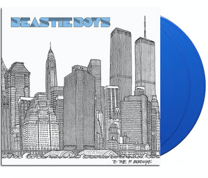 BEASTIE BOYS To the 5 Boroughs [2019] *indie exclusive* 2LP blue vinyl SEALED, NEW