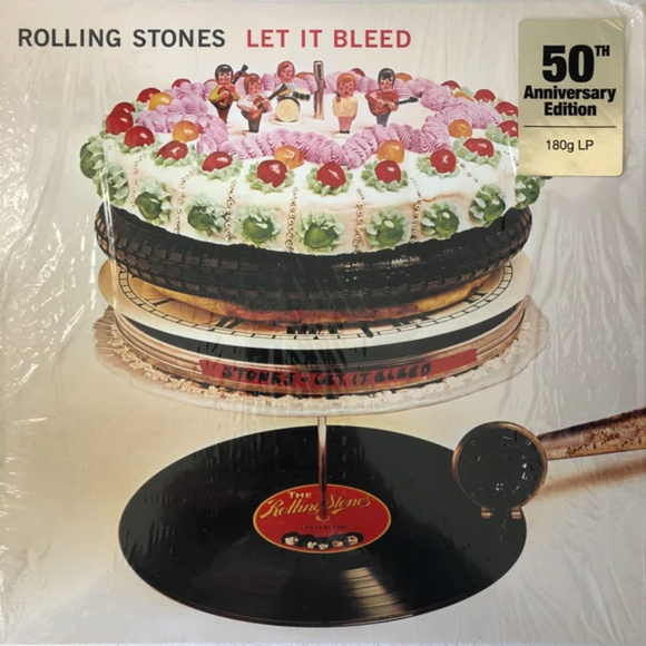 ROLLING STONES Let It Bleed [2019] 50th Anniversary reissue SEALED, NEW
