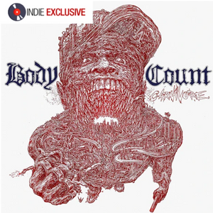 BODY COUNT (feat. ICE-T) Carnivore [2020] *indie exclusive* on WHITE vinyl SEALED, NEW