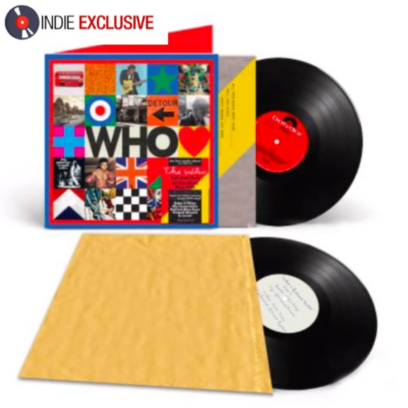 WHO The Who [2019] *indie exclusive* 2LP in gatefold sleeve SEALED, NEW