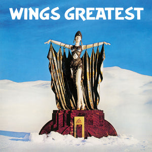 WINGS Wings Greatest [1978] MCCARTNEY 180g 2018 BLUE vinyl reissue SEALED NEW