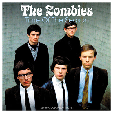 ZOMBIES Time of the Season [2017] BLUE vinyl 2LP SEALED, NEW